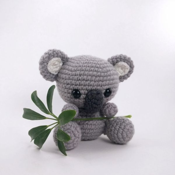 Kimba the Koala amigurumi pattern by Theresas Crochet Shop ...