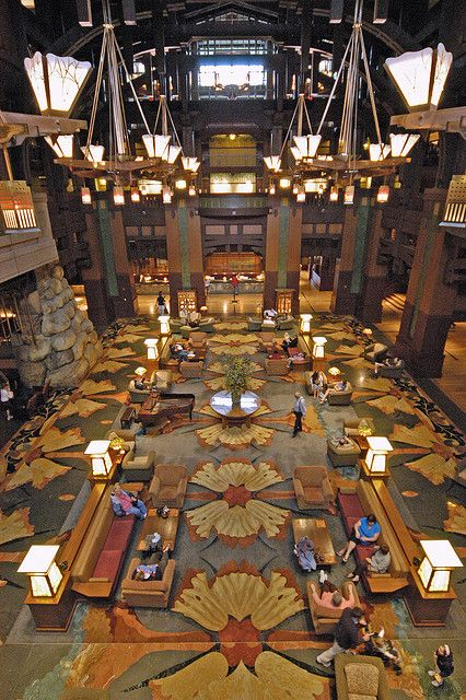california // anaheim // disney's grand californian hotel
