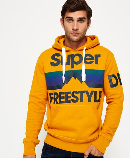 Superdry Retro Mountaineer Hoodie | Brand Collection in 2019