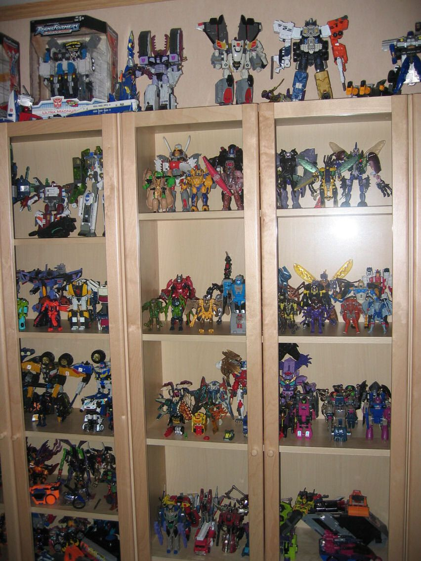 Action figure collection BILLY bookcase
