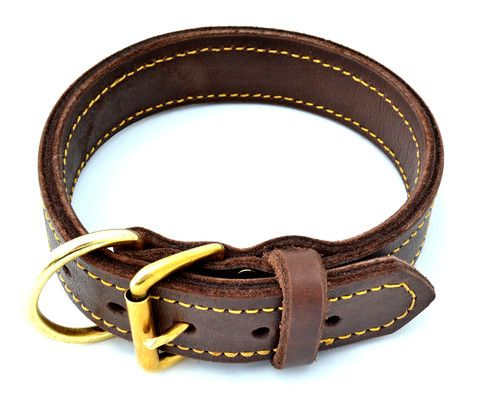 Deluxe Leather Collar Leather Collar Leather Dog Collars Leather