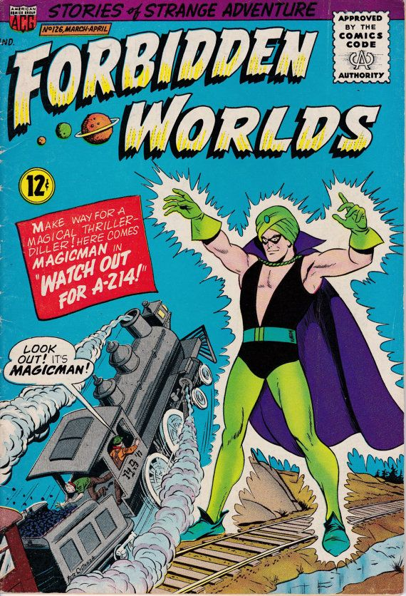 Forbidden Worlds 126 March 1965 Issue  ACG Comics  by ViewObscura
