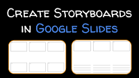 Quickly Print A Storyboard Template From Google Slides Free