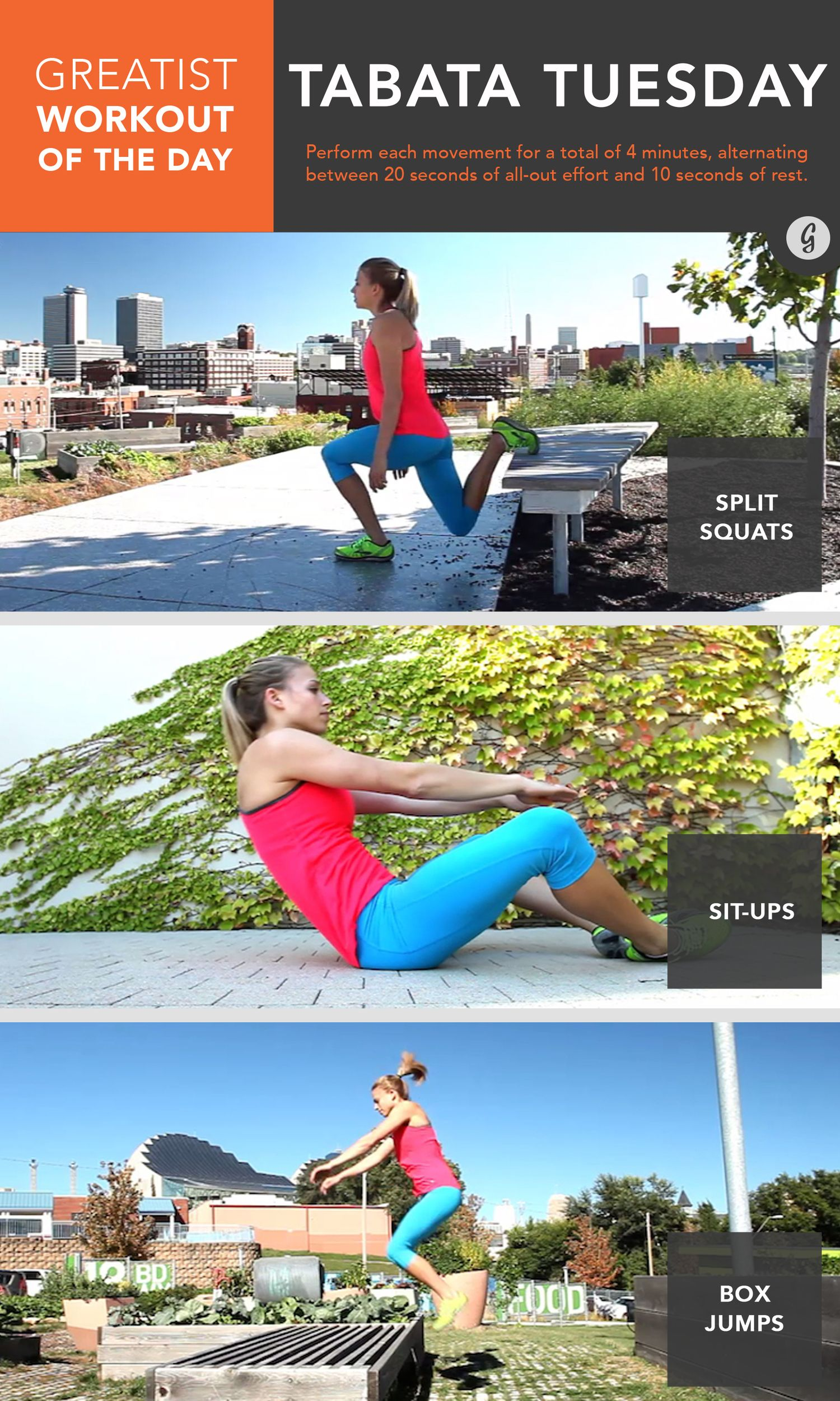 Greatist Workout of the Day: Thursday, October 23rd recommend