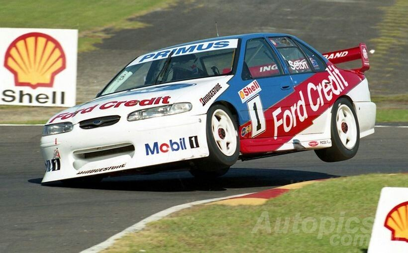 Ef And El Falcons Ford S Mighty Atcc And Bathurst Champs Shannons Club Glenn Seton Was One Of Ford S Top Guns During The Ef E Racing Super Cars V8 Supercars