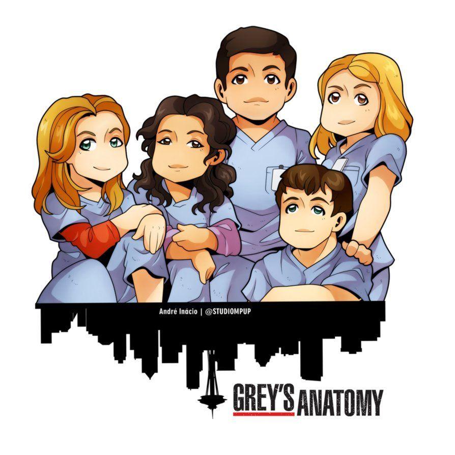 Grey Anatomy Dibujos Buscar Con Google En 2019 Greys