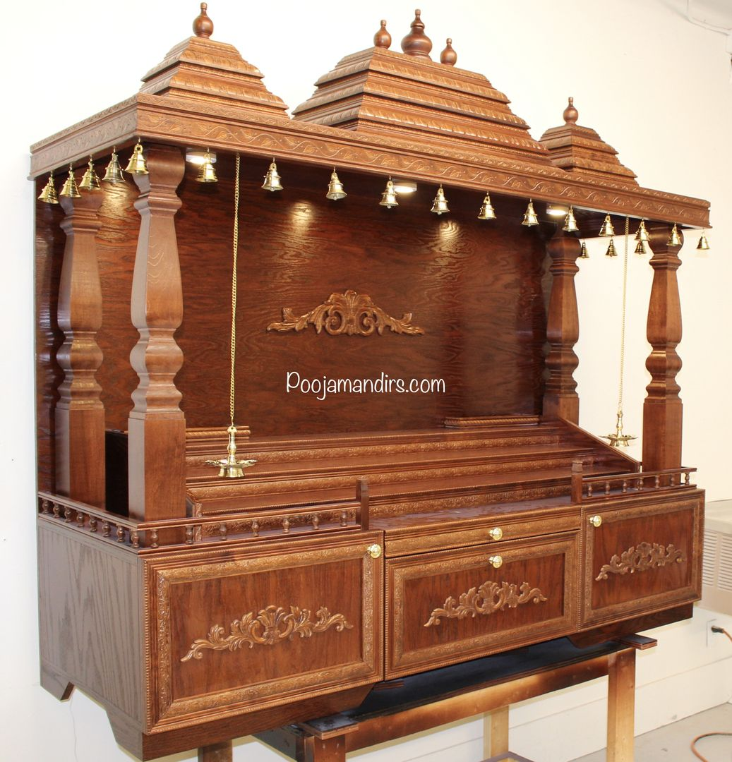 On Best Pooja Mandir Designs Adhesive shelf liner (brown) paper towel rolls;