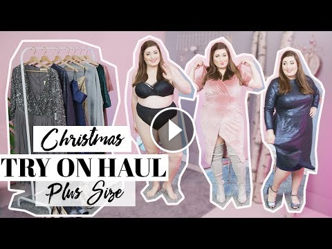 f918a0aefc7 CHRISTMAS PLUS SIZE FASHION TRY ON HAUL XXL I Asos Curve Weihnachts  Lookbook Winter 2018…
