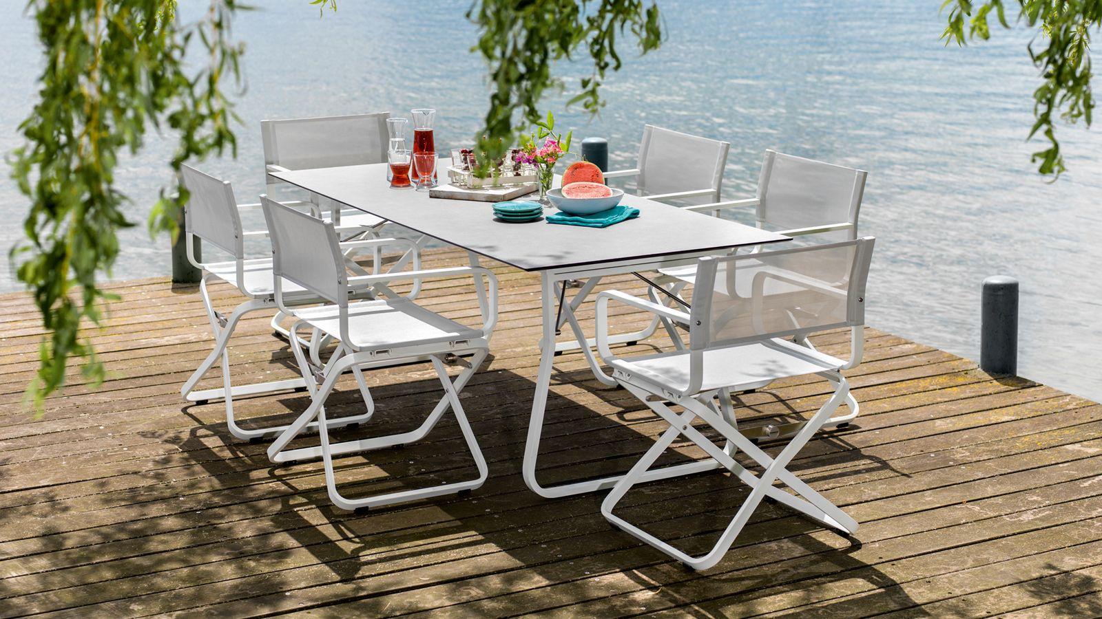 Alu Design Vaison La Romaine weishäupl werkstätten | outdoor furniture sets, outdoor