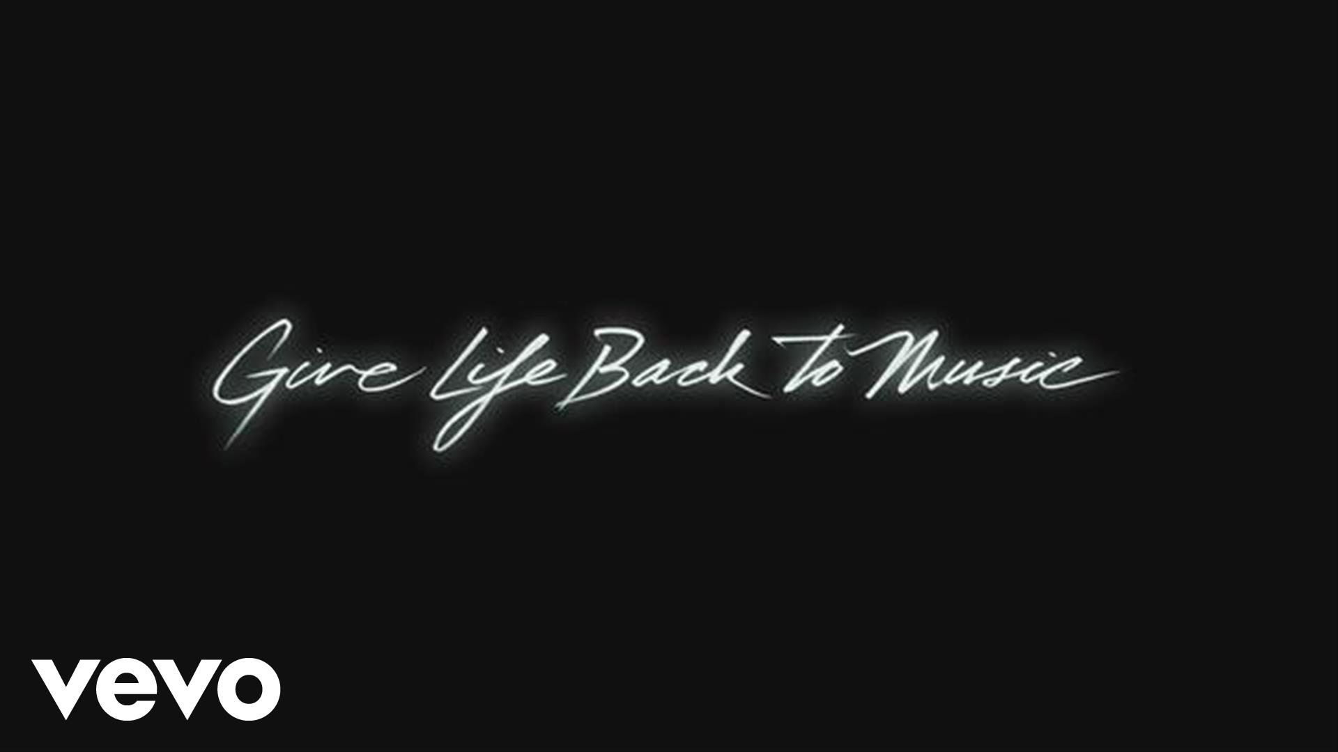 Daft Punk Give Life Back To Music Official Audio Daft Punk Color In Film Songs