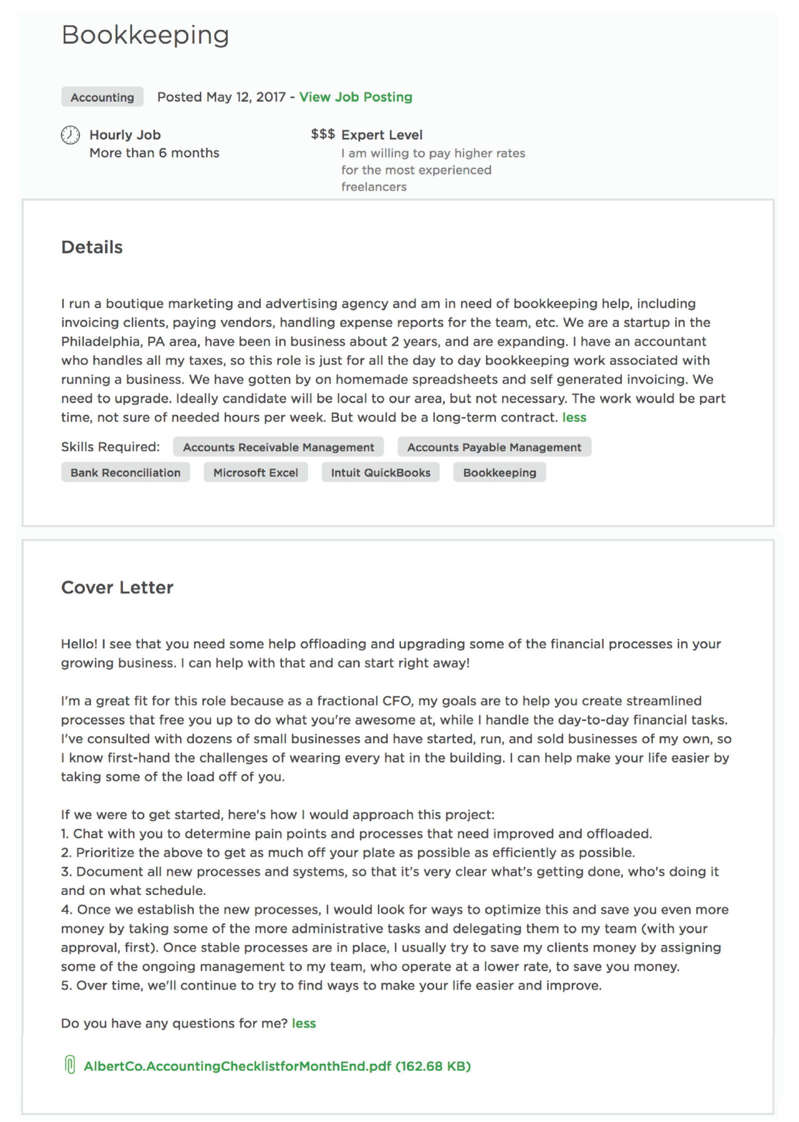 How To Write A Proposal On Upwork That Actually Gets You Hired Proposal Writing Upwork Job Posting