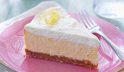 g 226 teau au fromage au citron divin avec garniture 224 la cr 232 me sure aimer manger
