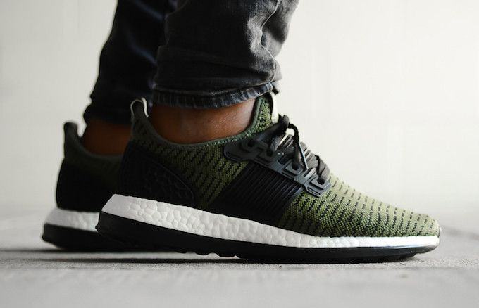 Olive Lands On The adidas Pure Boost ZG Prime