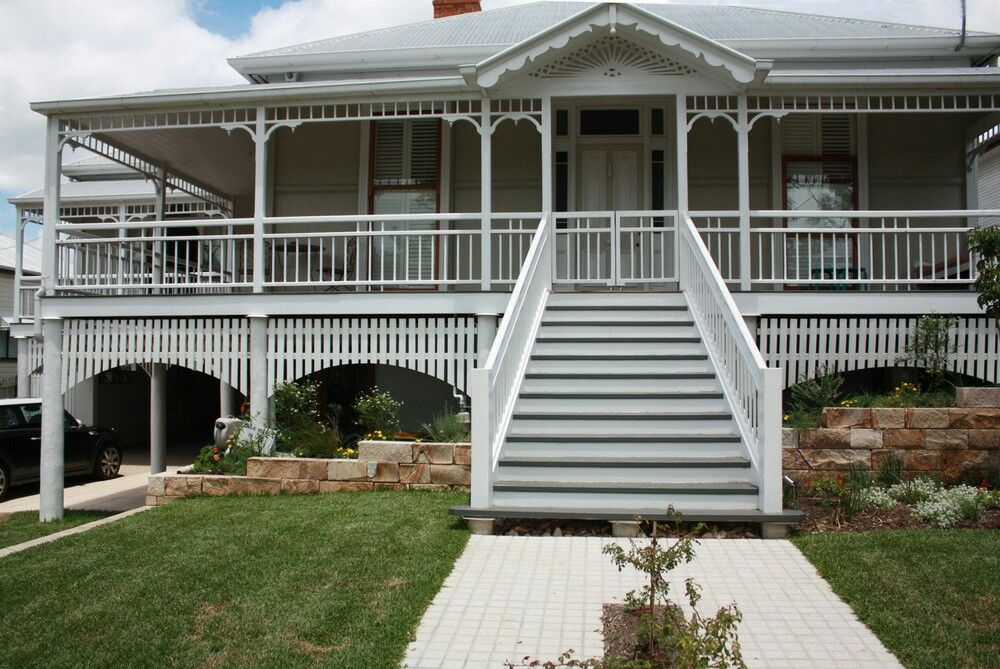 Pin by Ann Sargeant on balustrade | Queenslander