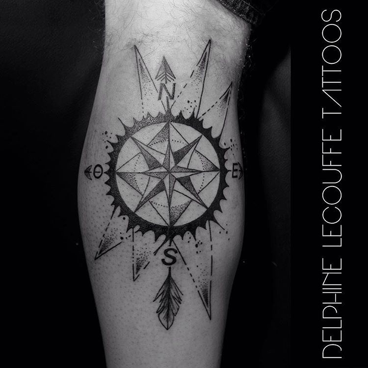 Afficher l 39 image d 39 origine tatoo boussole pinterest tatoo et images - Tatouage symbole force mentale ...