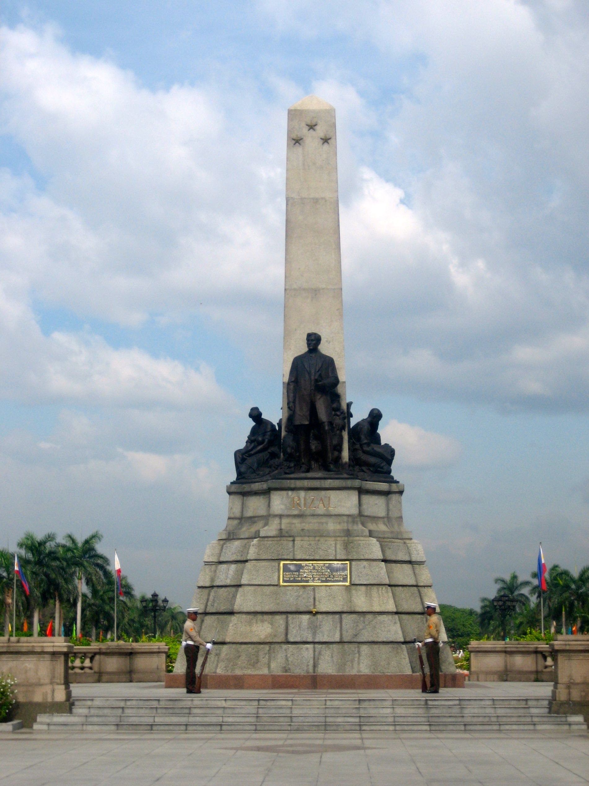 The Rizal Monument National Hero Of The Philippines In Luneta
