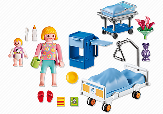 afbeeldingsresultaat voor playmobil ziekenhuis set