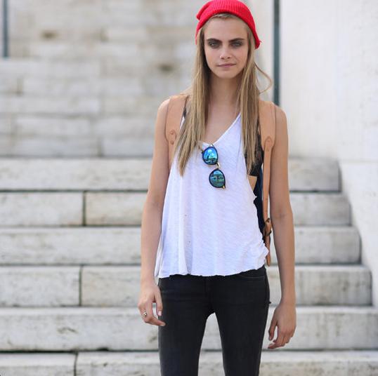 cara develingne. the new fashion icon