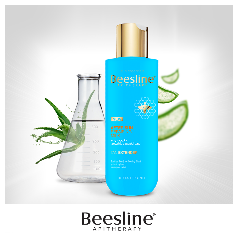 Did You Know That Aloe Vera Is Used In Beesline S After Sun Repairing Milk Because Of Its Ability To Quench The Ski Perfume Bottles Perfume Active Ingredient