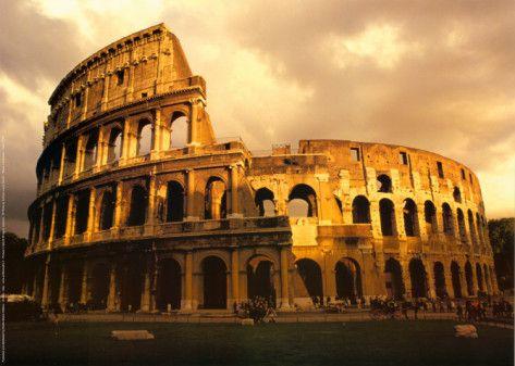 Archivio Roma, Il Colosseo Art Print