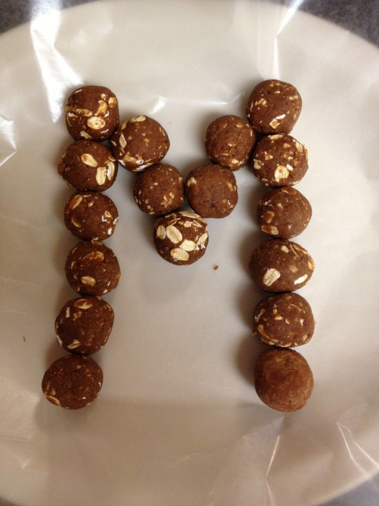 PB2 Poppers - love PB2 powder! (substitution peanut butter)
