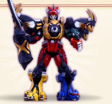 I searched for Power Rangers Jungle Fury lion zords images ...