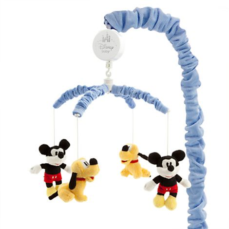 Mickey Mouse and Pluto Musical Mobile for Baby | Home Accents | Disney Store