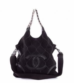 Rodeo Drive quilted suede bag
