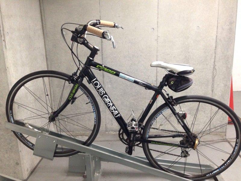 ロードバイクをママチャリ化したので写真を載せてみる みにそらりのゴルディロ 画廊のとなり バイク ロードバイク ビークル