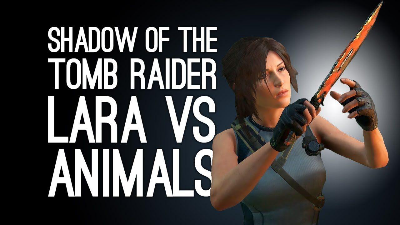 Shadow Of The Tomb Raider Gameplay Lara Vs Animals Let S Play