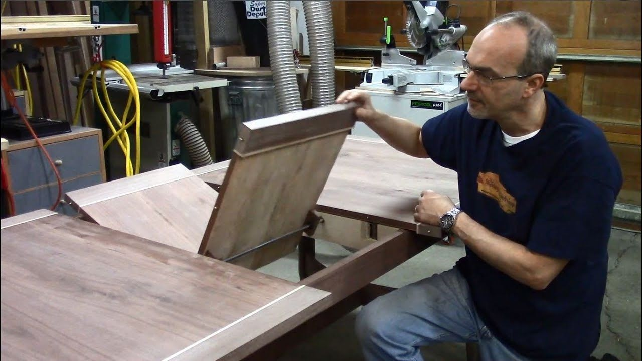 Butterfly leaf dining table 9 designing and installing