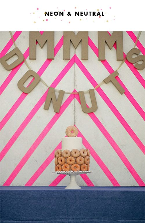 doughnut cake.