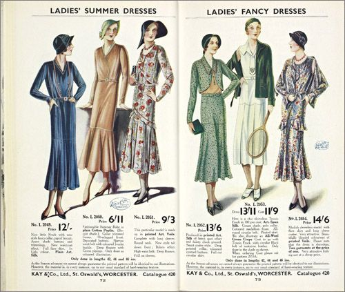 Throughout the 1930s, the fashionable imagery shown in the popular ...