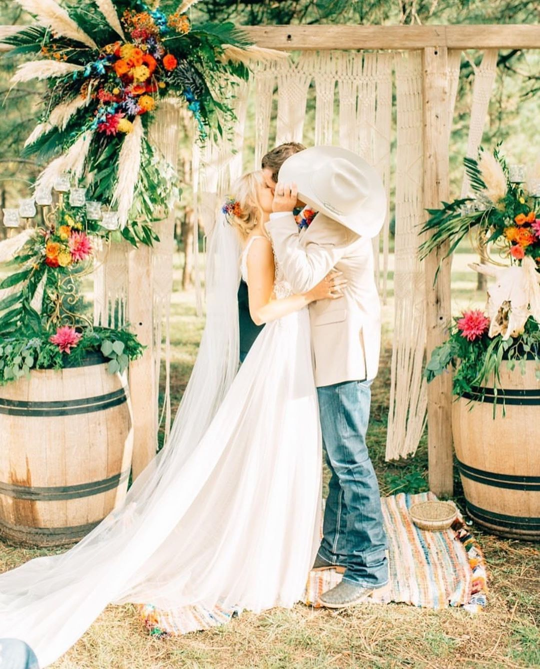 """Real Ranch Weddings On Instagram: """"Let's Just Go Ahead And"""