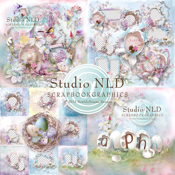 Eggstra Cute Easter Collection Nlds Kits Pinterest Easter