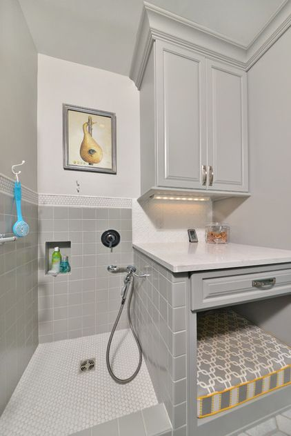 Room Of The Day Laundry Room Goes To The Dogs Dog Rooms