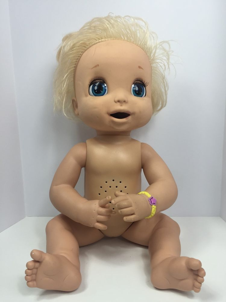 2007 Soft Face Baby Alive Learn To Potty Interactive Doll