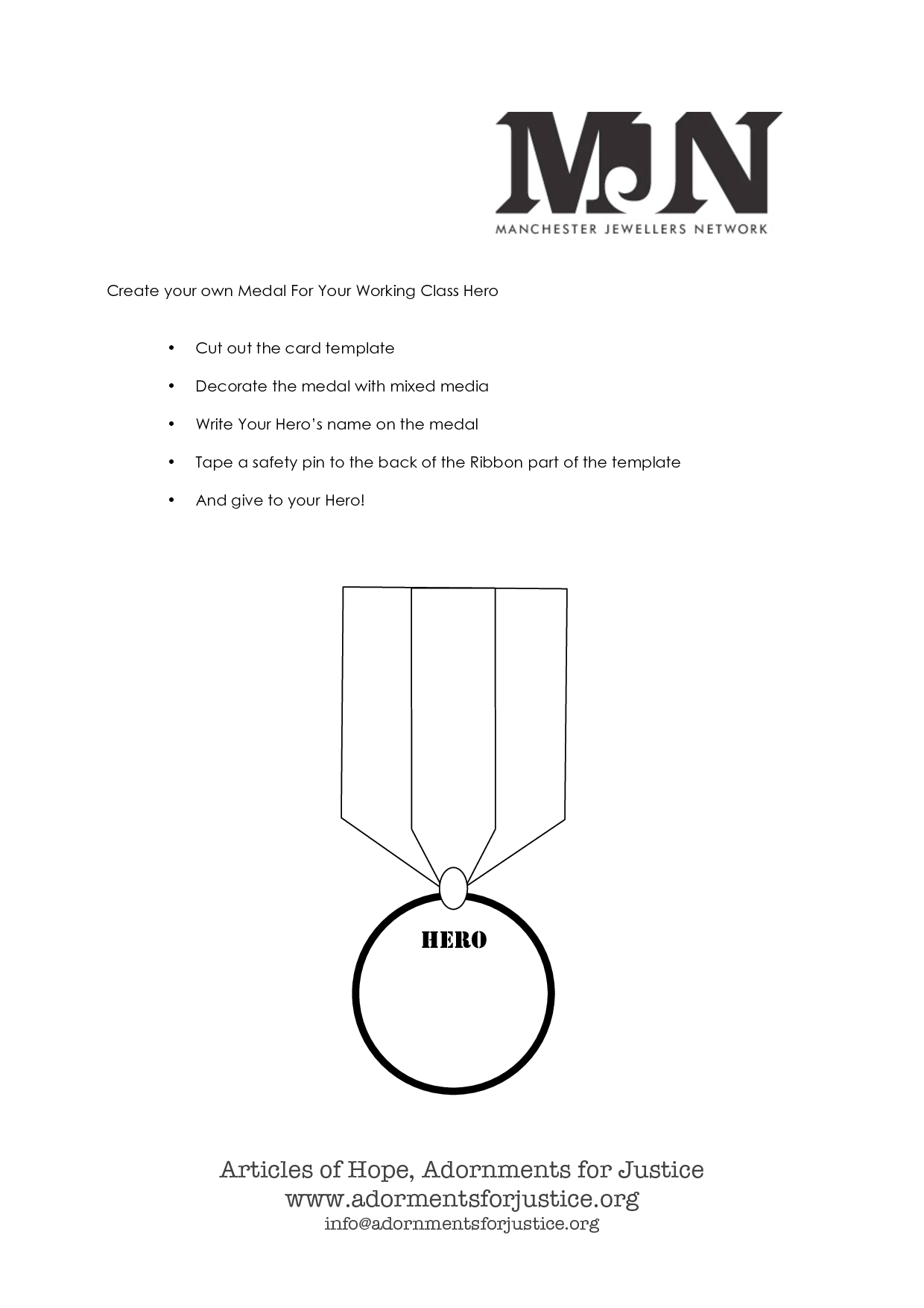 Gold Medal Template Printable Success