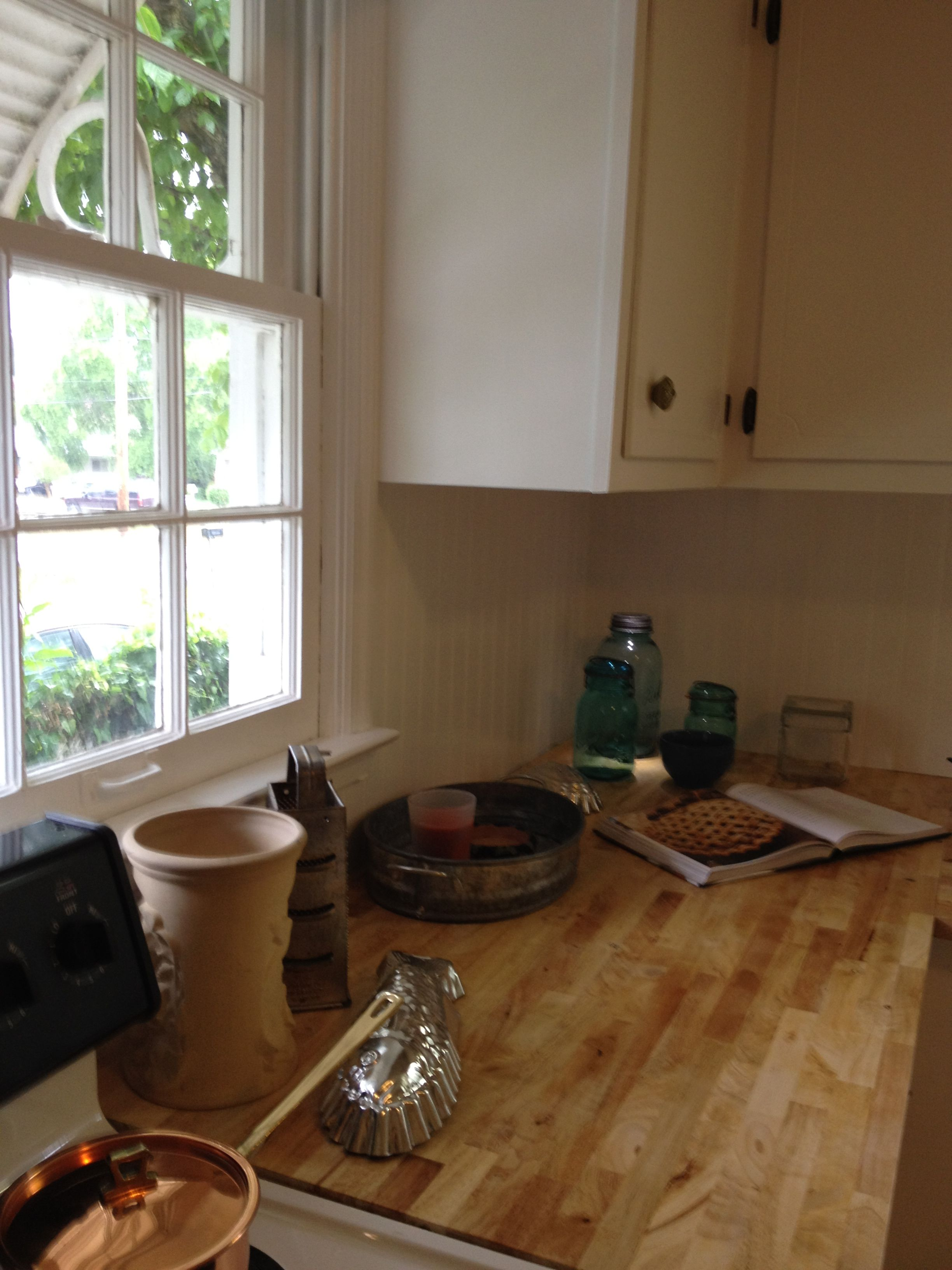 Butcher Block Counter Tops With Bees Wax Finish Cheap
