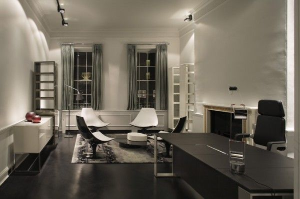 Modern Eleganth Home Office Design | Super Elegant Office Design Ideas
