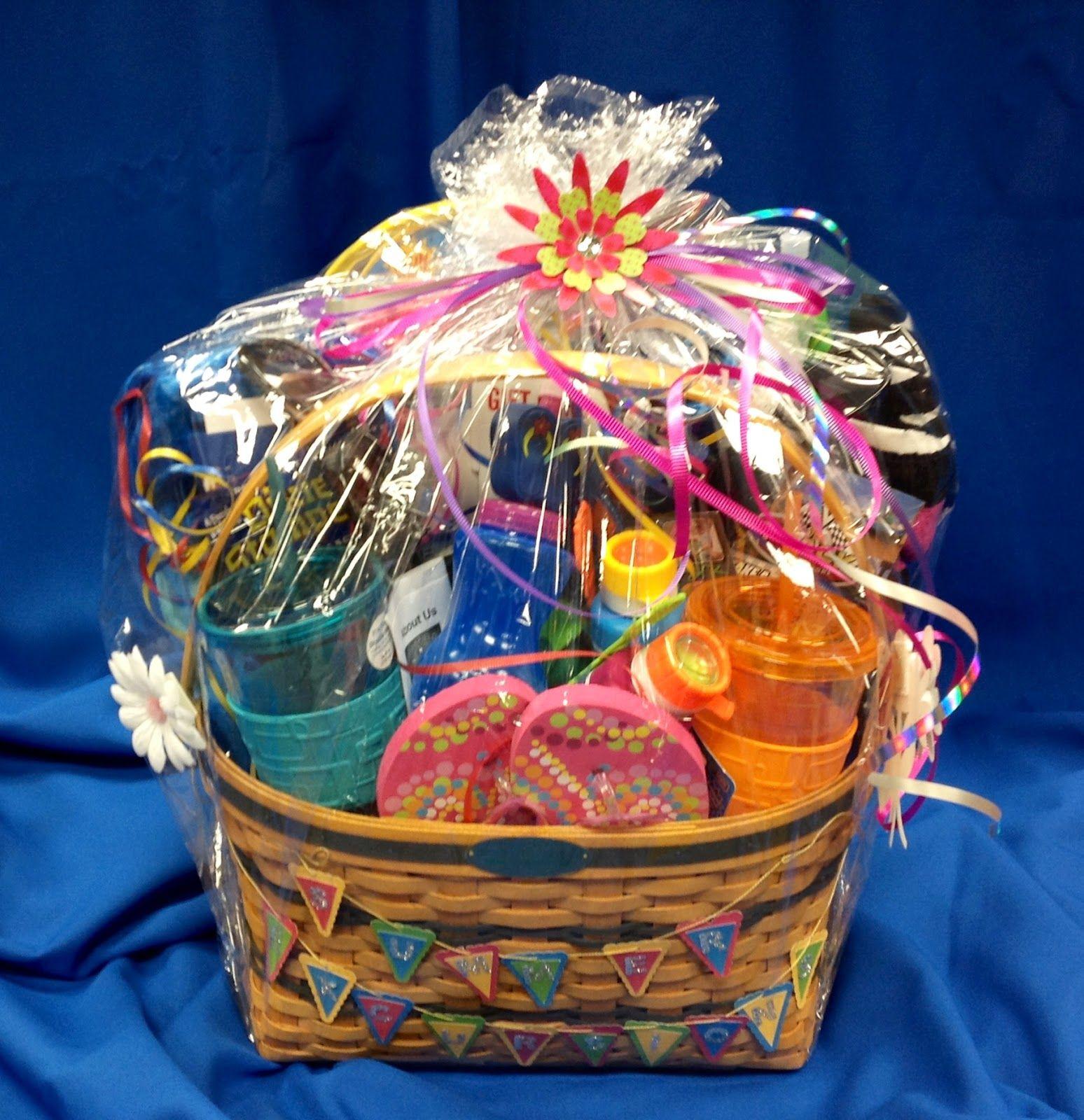 Summer Raffle Basket Ideas Names For Themed Raffle