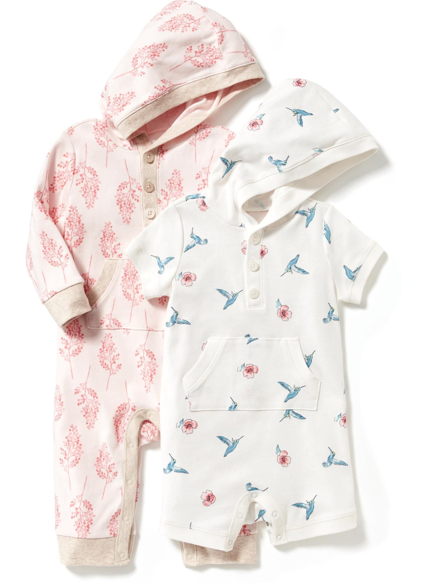 Hooded e Piece 2 Pack for Baby Old Navy isla jean