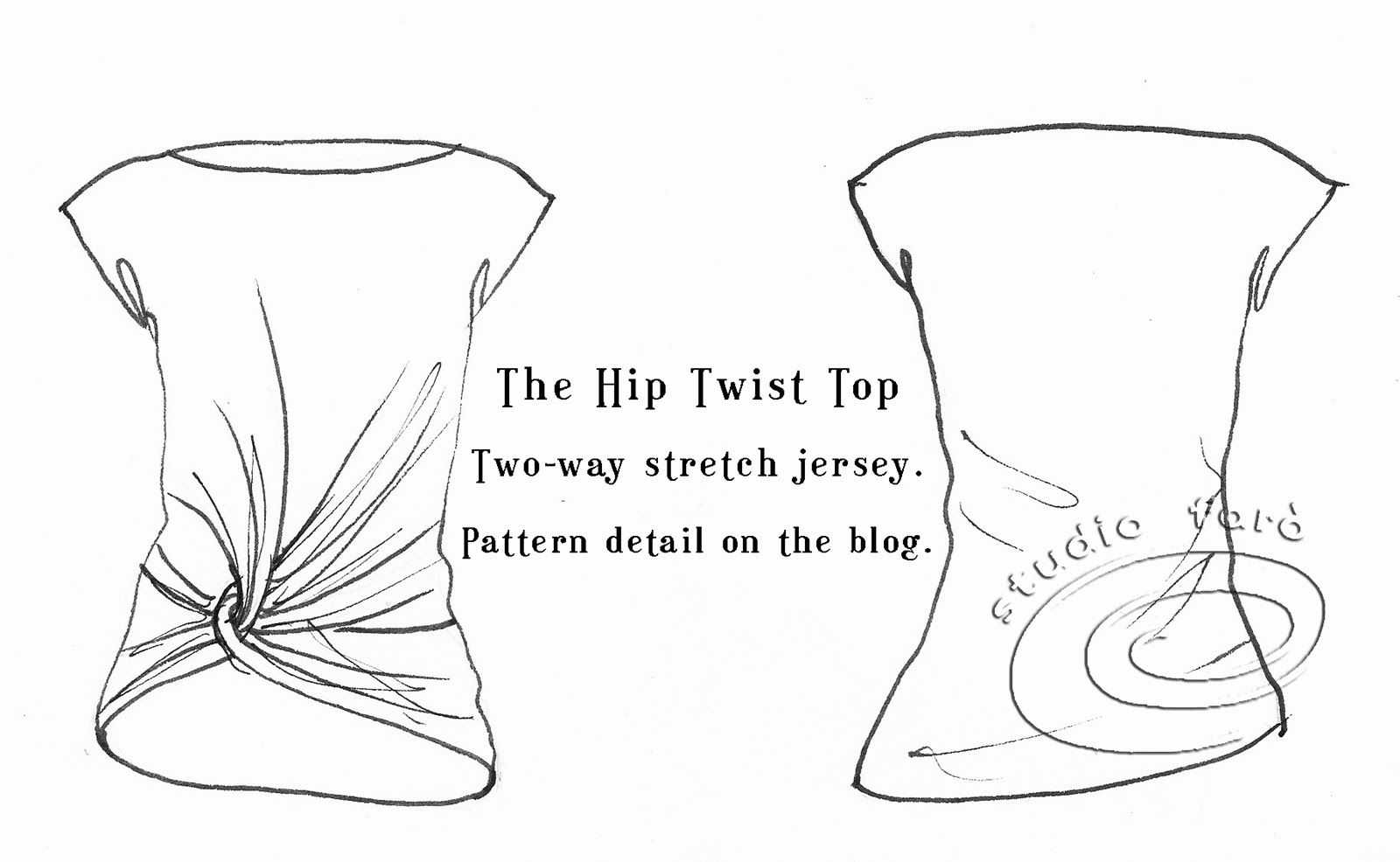 well-suited: Pattern Puzzle - Hip Twist Top | Sewing for me ...