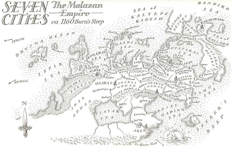 50+ Malazan maps info
