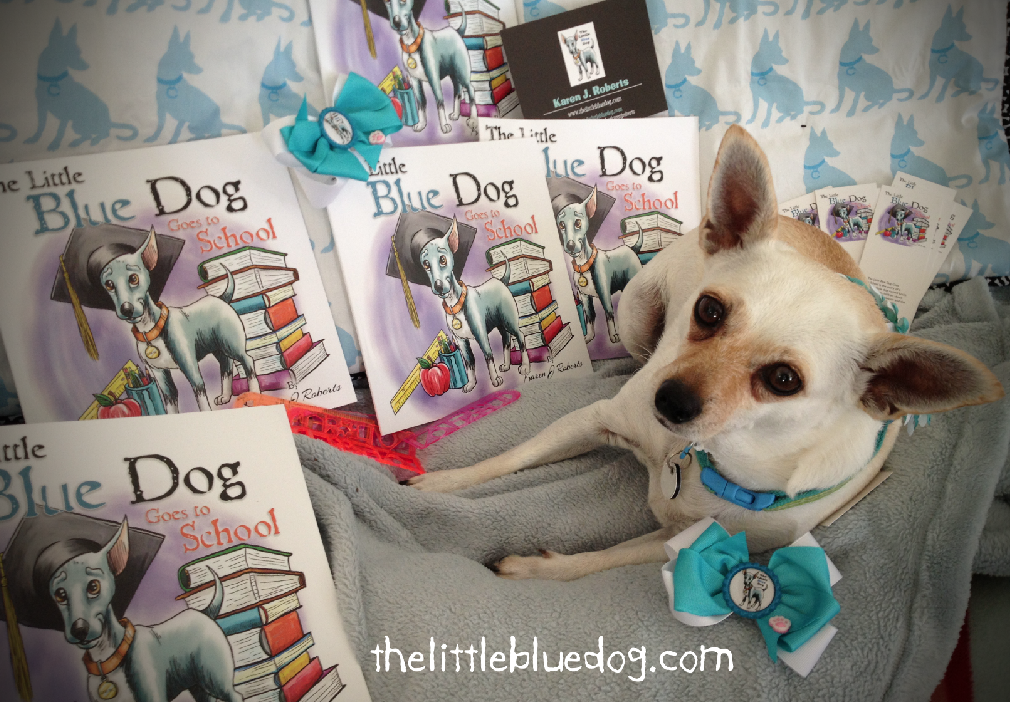 Books for kids, promoting tolerance and animal kindness.  to learn more, visit  www.thelittlebluedog.com