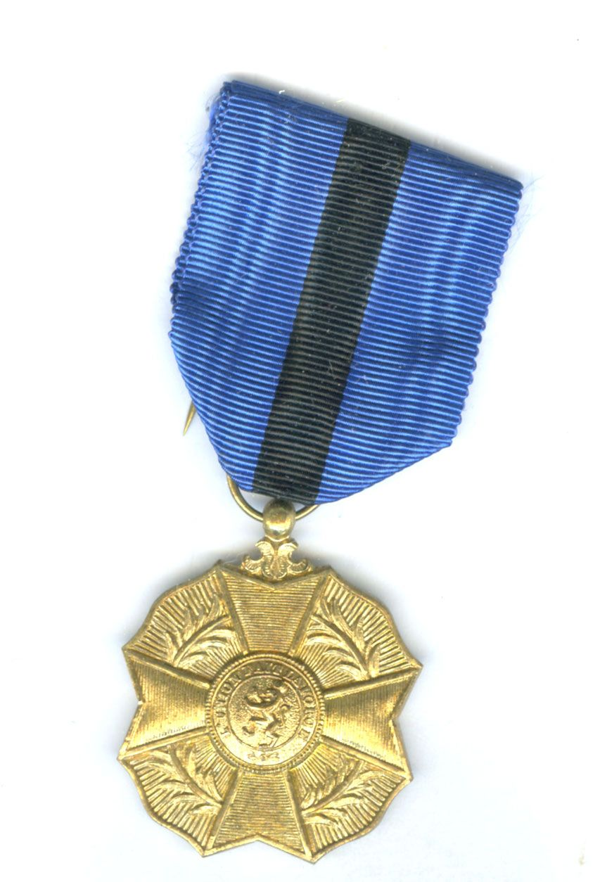 Belgium Order of Leopold II 2nd type Medal 1st class gilt