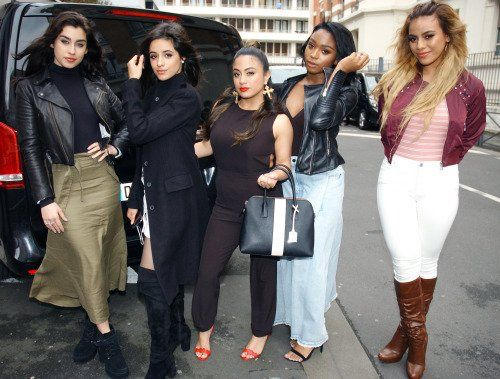 Fifth Harmony outside @NRJhitmusiconly yesterday #WorkFromFrance