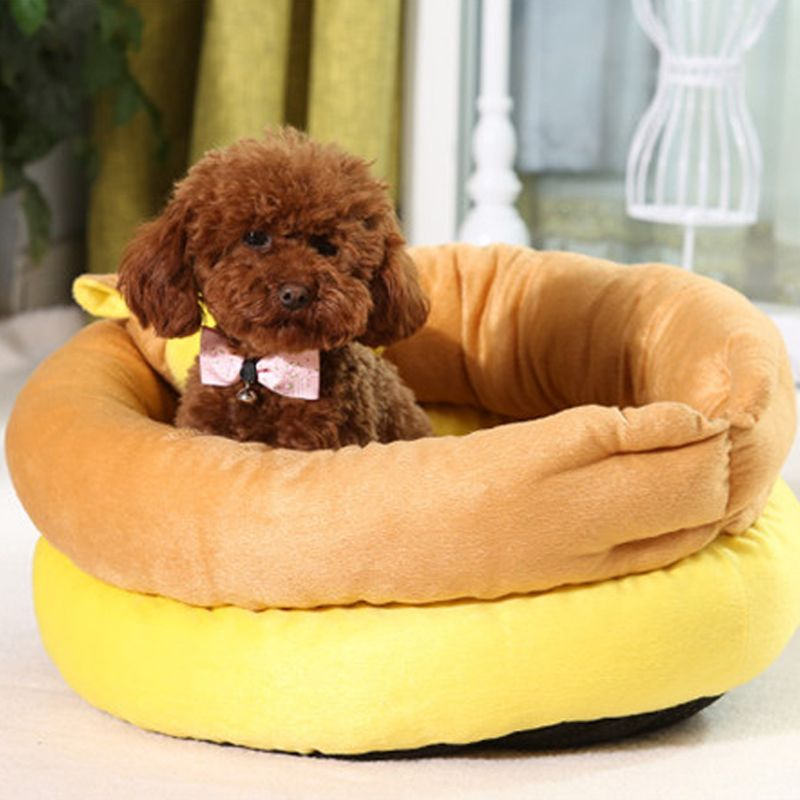 Dog Toys Home & Garden Tinghao Pet Puppy Chew Pipe Shape Squeaker Squeaky Plush Sound Small Dog Playing Toy