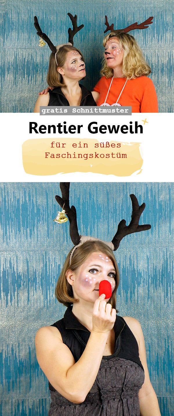 Ich bin Rudolph*ine | Rentier kostüm, Diy kostüme und Kostüme fasching