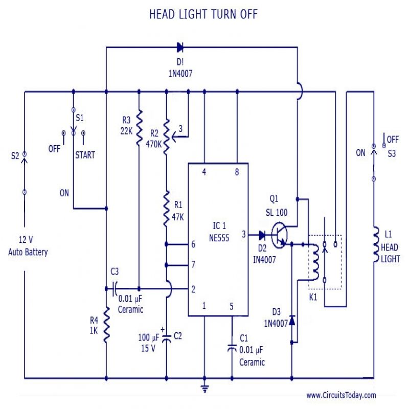 Wiring Diagrams For Lighting Circuits
